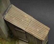 DioDump DD008 Corrugated Cardboard Sheets (2 pcs) 1:35 scale diorama materials