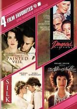 Epic Romances Collection: 4 Films (DVD, 2011, 2-Disc Set) PAINTED VEIL/SILK, NEW