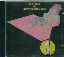 CD BEST OF 12 TITRES--ARETHA FRANKLIN--THE BEST OF ARETHA FRANKLIN