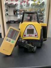 Leica Rugby 300 Sg Red Beam Self Leveling Laser With Case Free Shipping 1010