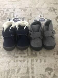 NEW NWT Toddler Boys First Steps Boots 12 to 18 Months Shoe LOT Size 5