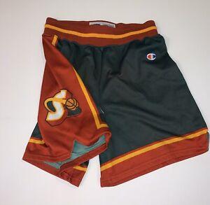 Seattle Supersonics Champion Sonics Vintage 90s Authentic Shorts Adult Small