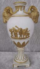 Antique Bailey Banks Biddle Dresden Vase With Ram Heads