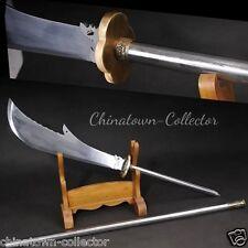 Broadsword Guan Yu's Green Dragon Crescent Blade High manganese steel blade#0028