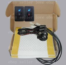 Auto seat heater universal 5-gear switch,heated seat fit all 12V cars,trucks