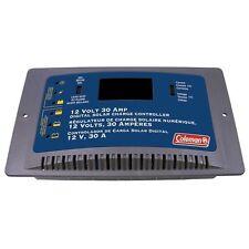 Coleman 68032 12 Volt 30 Amp Digital Solar Charge Controller Sunforce
