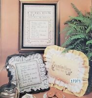 Grandmothers Are Special Cross Stitch Leaflet Sampler T&N Designs 1983
