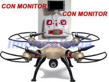 DRONE  SYMA X8H  X8HW  X8HG  QUADRICOTTERO  HEADLESS  CON MONITOR  5,8 GHZ  FPV