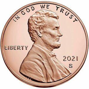 2021 S Union Cent Deep Cameo Gem Proof No Reserve