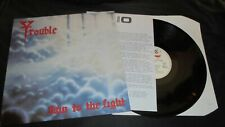 TROUBLE Run To The Light *PROMO* Metal Blade/Roadrunner 1987 Nm/Ex Lp vinyl