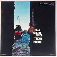 JIMMIE RODGERS: Train Whistle Blues RCA LPM-1660 Vinyl LP NM-
