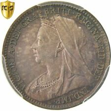 [#481953] Coin, Great Britain, Victoria, 3 Pence, 1896, PCGS, PL66, Silver