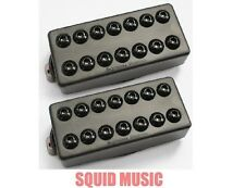 Seymour Duncan Invader 7 String Black Metal Covers ( FREE WORLDWIDE SHIPPING )