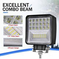 48W Auto LED Arbeitsscheinwerfer Strahler Worklight 12V 24V Offroad KFZ LKW SUV