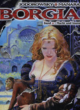 Borgia No. 2 HC Power and Incest by Jodorowsky/MANARA IN TOP CONDITION!!!