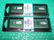 Kingston 8GB PC3-8500 1066MHz DDR3 ECC Unbuffered Desktop Memory (2x 4GB)