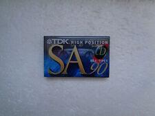 Vintage Audio Cassette TDK SA 90 * Rare Europe Model 1994 *