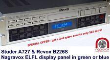 Revox B226S / Studer A727 CD Player ELFL Luminescent display panel lamp
