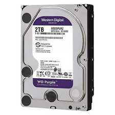 "Western Digital Purple 2TB, Interno, 5400 RPM, 3.5"" (WD20PURX) Disco Rigido"
