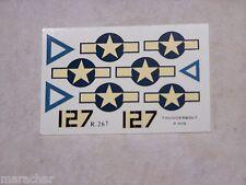 """DECALS HELLER 1/72ème P-47N """"THUNDERBOLT"""""""