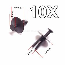 10x for BMW Expanding Rivets Plastic Trim Clips for bumpers sills 51118174185