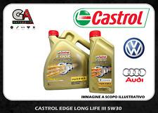 Olio motore Castrol Edge fst titanium 5w-30 LL 3 III pro 5lt Vw Audi