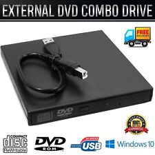 Ultra Slim External USB 2.0 DVD ROM Combo CD-RW Burner Drive For All Laptop Pc