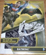 Dawn of Justice Batwing Batman v Superman Metal Earth Laser Cut Model Mms376