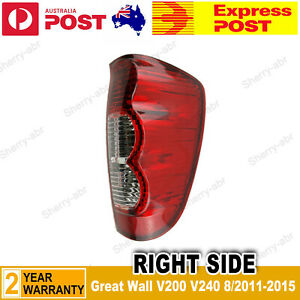 For Great Wall V200 V240 Ute 8/2011-2015 Right Driver Side Tail Light Rear Lamp