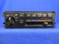 2001 INFINITI G20 MANUAL HEATER AC CONTROL (BLACK) R615