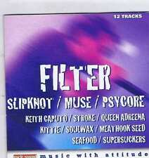 FILTER / SLIPKNOT / MUSE / PSYCORE / KEITH CAPUTO + ROCK SOUND CD Vol. 10