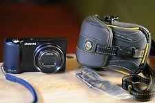Samsung Galaxy EK-GC100 16.3 MP WIFI B/Tooth 3G Digital Camera - Blue+ BAG!$$$