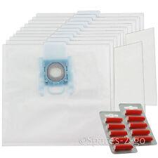 10 x sacchetti per aspirapolvere G per Bosch BBZ BSG MegaAir SUPERTEX GXXL GXL + Filtro + Fresca