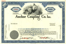 Anchor Coupling Co. Inc - Stock Certificate