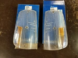 NEW GENUINE VOLVO 240 260 1975 - 1985  FRONT TURN SIGNAL LAMP LENS 1235326 LIGHT