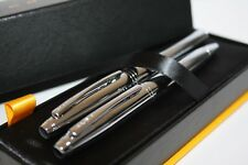 CROSS CALAIS SILVER FOUNTAIN PEN AND BALLPOINT SET
