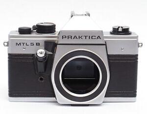 PRAKTICA MTL 5B SPIEGELREFLEX KAMERA M42 MOUNT DDR ANALOG 35MM FILM MTL5B