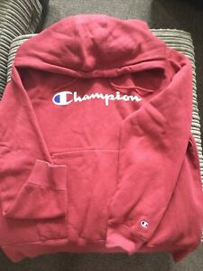 champion vintage hoodie LARGE