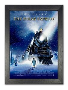 The Polar Express Christmas Movie Cartoon Large Poster Picture Print