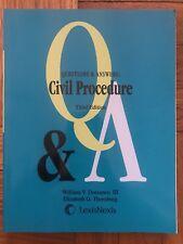 LexisNexis Questions & Answers: Civil Procedure Third Edition
