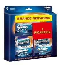 Lamette Ricambio Ricariche Gillette Fusion Proglide per Rasoio Formato Risparmio