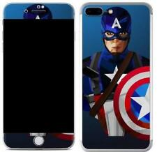 Captian iPhone Skin Cover Sticker Decal Vinyl Wrap Case For ALL Apple iPhone