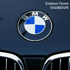 BMW Emblem 74mm Logo Motorhaube Heckklappe Kofferraum