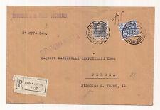 Z560-RACC. DAL TRIBUNALE MILITARE AUSTRIACO DI ROMA PER VERONA 1928