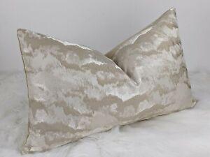 "Heavenly Cloud ( Nimbus ) Luxury Modern Cushion Cover Velvet Reverse 12""x20"""
