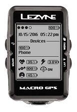 Lezyne Macro GPS Computer Brand New & Boxed