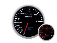 Depo racing 2in1 presión de visualización checa Boost oil Press gauge multifunción