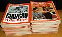 47x Der Spiegel 1969 Nachrichten-Magazin Zeitschrift Geburtstag Geschenk 60er