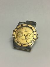 Omega Constellation Chronometer Two Tone 18K Steel Full Gold Bar Day Date Watch