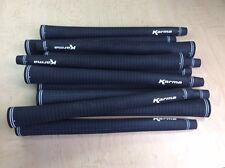 15 NEW Karma Black Velvet Midsize Golf Grips